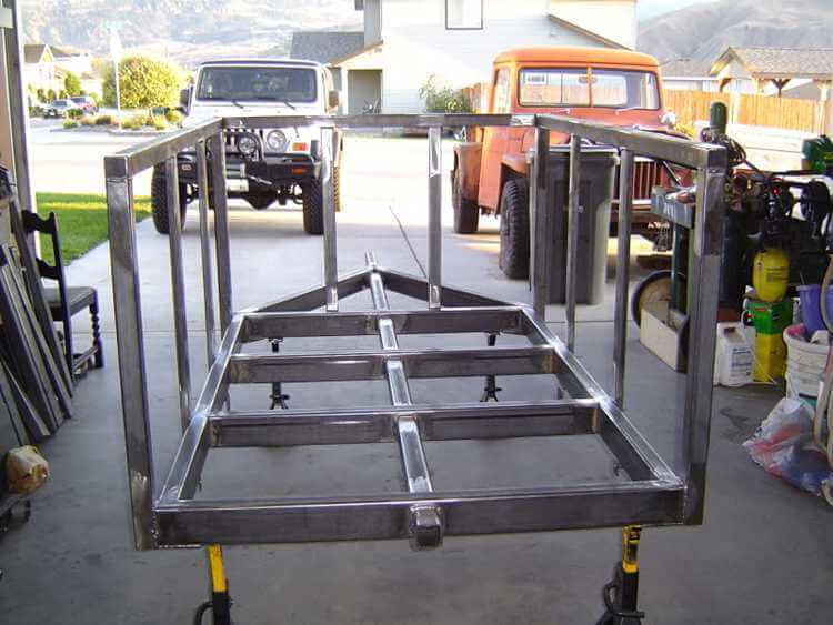 21. Off-road utility trailer