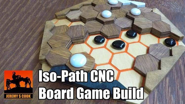 22. DIY ISO-Path Board Game
