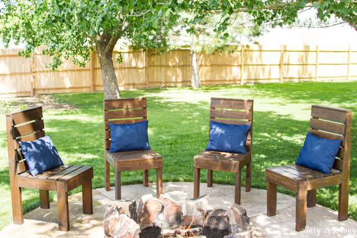 22. DIY Outdoor Chairs