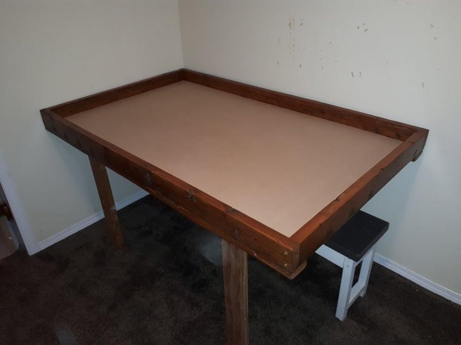 23. DIY Game Table From Reclaimed Wood