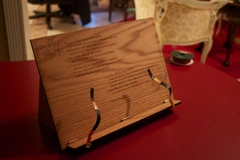 23. Foldable Book Stand