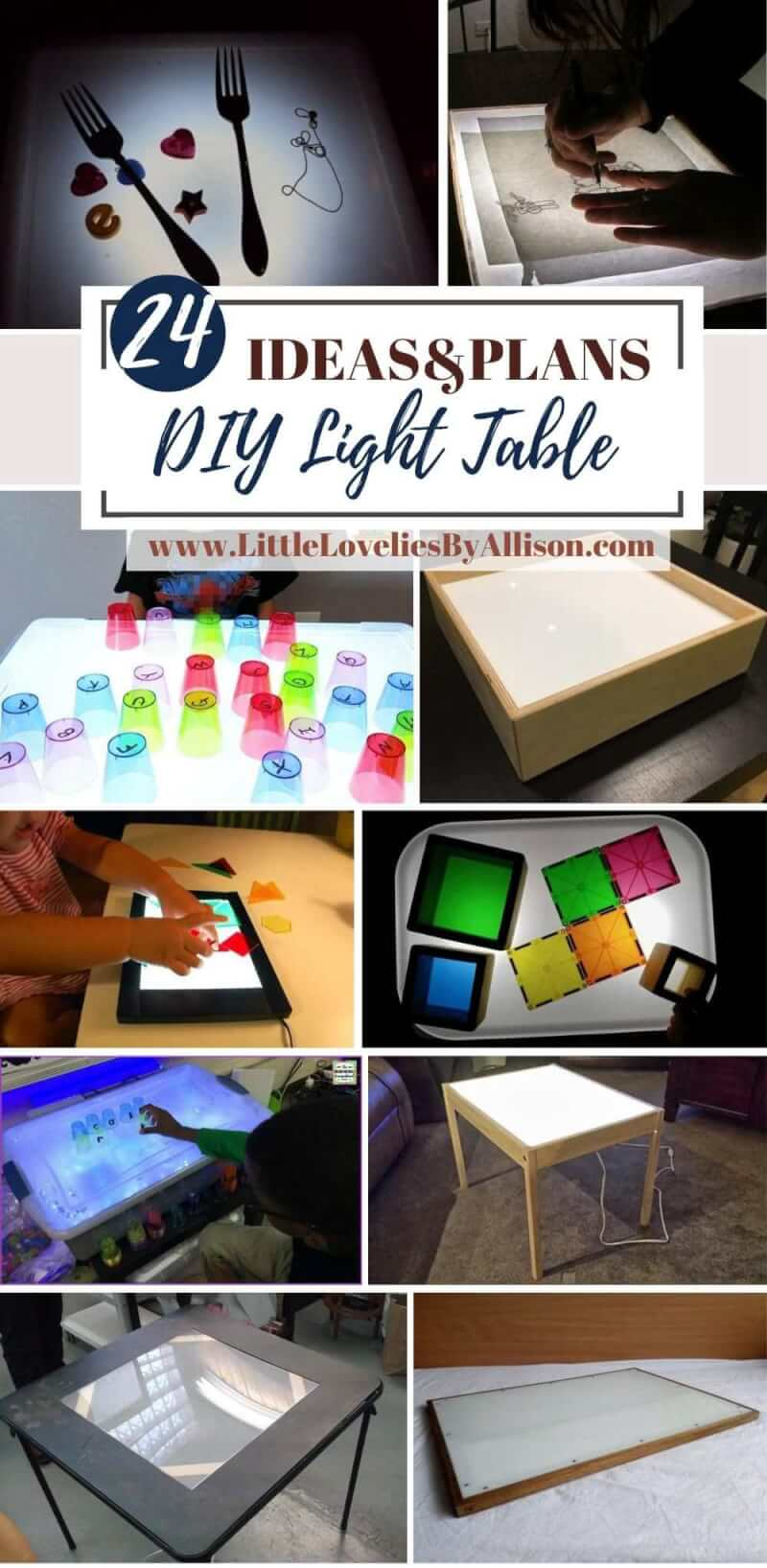 24 DIY Light Table Plans_ Do It Yourself From Home