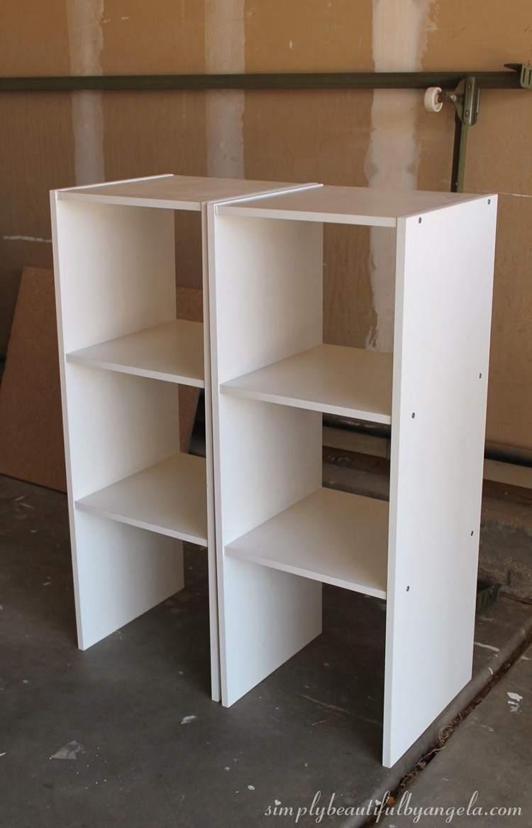 24. DIY Storage Cabinet Using Cheap Cubes