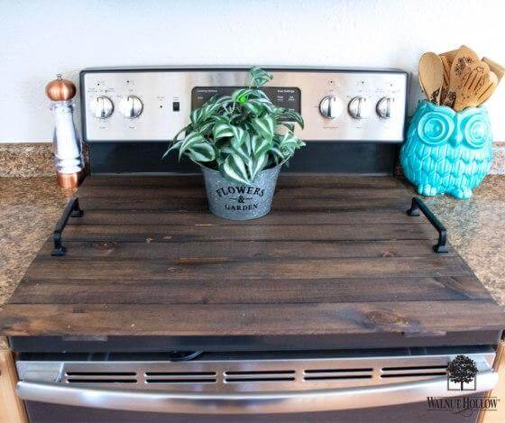 24. DIY Stove Cover Tray