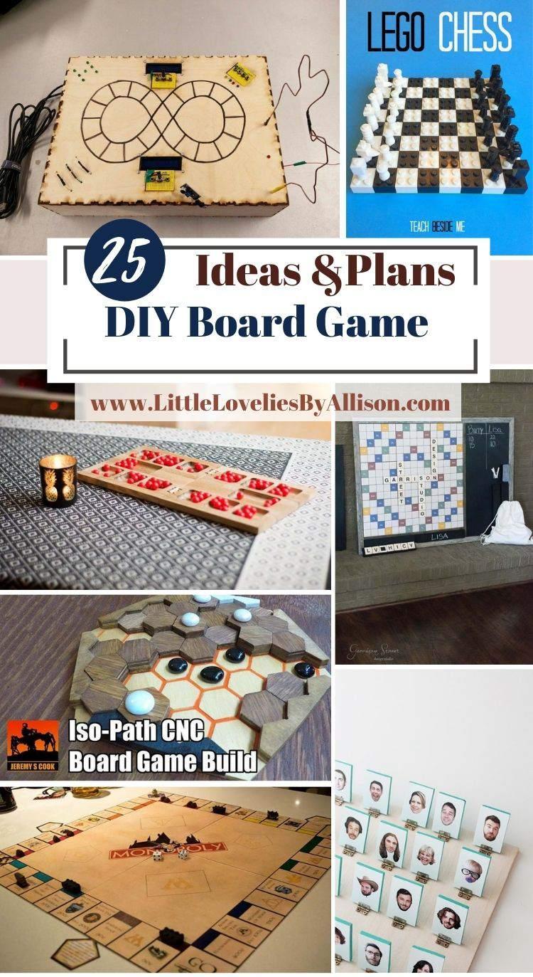 25 DIY Board Game Ideas_ Kill Boredom With Homemade Board Games