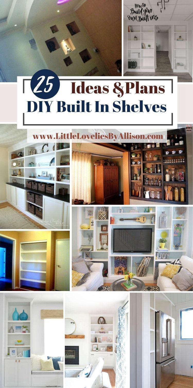 25 DIY Built In Shelves_ Do It Yourself Easily