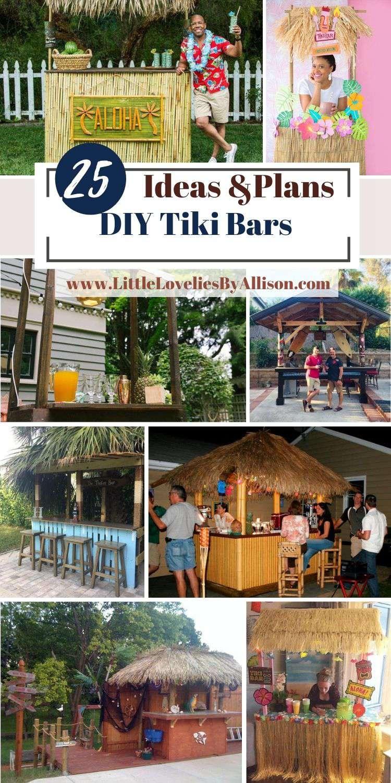 25 DIY Tiki Bars_ How To Build A Tiki Bar