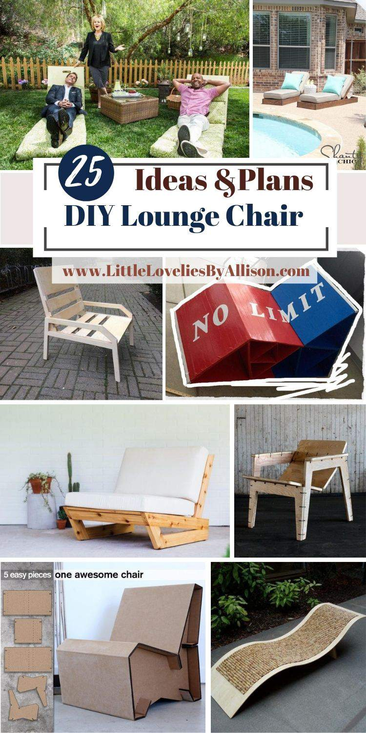 25 Ways To Build A DIY Lounge Chair In 2021