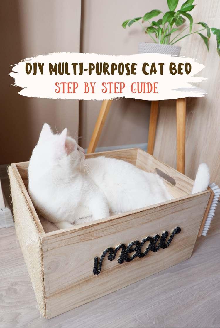 25. DIY Multi-purpose Cat Bed Description