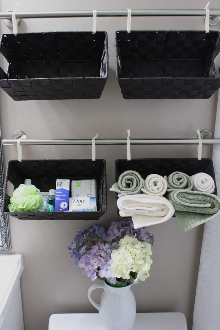 27. DIY Bathroom Shelves