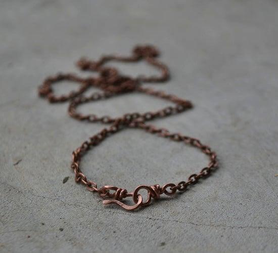 29. DIY Copper Necklace Clasp