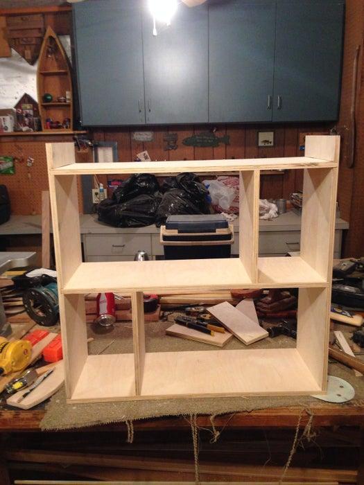 3. DIY Bathroom Shelves