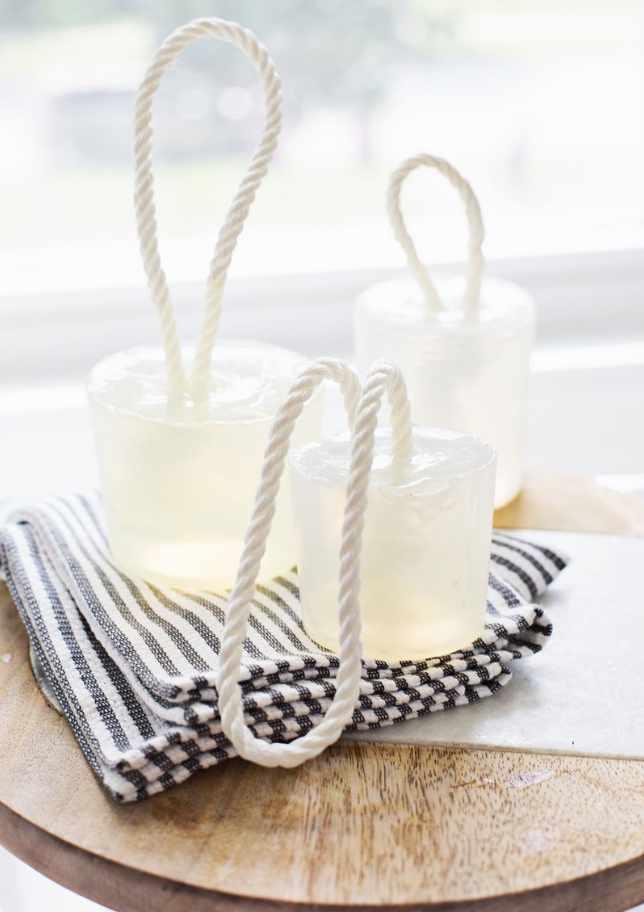 3. DIY Soap on Rope