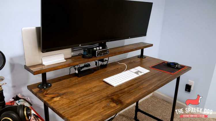 3. How To Build An Industrial Pipe Desk