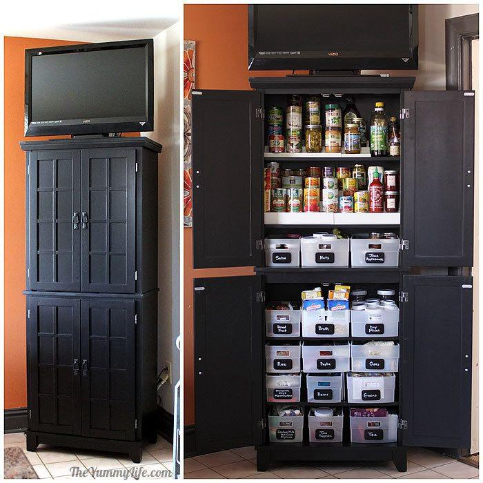 3. Instant DIY Pantry Cabinet