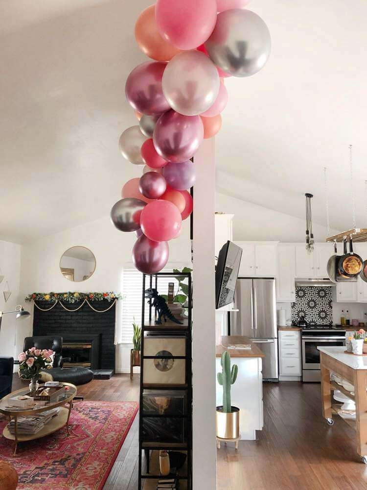 4. DIY Balloon Arch