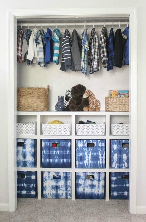 4. DIY Closet Shelves