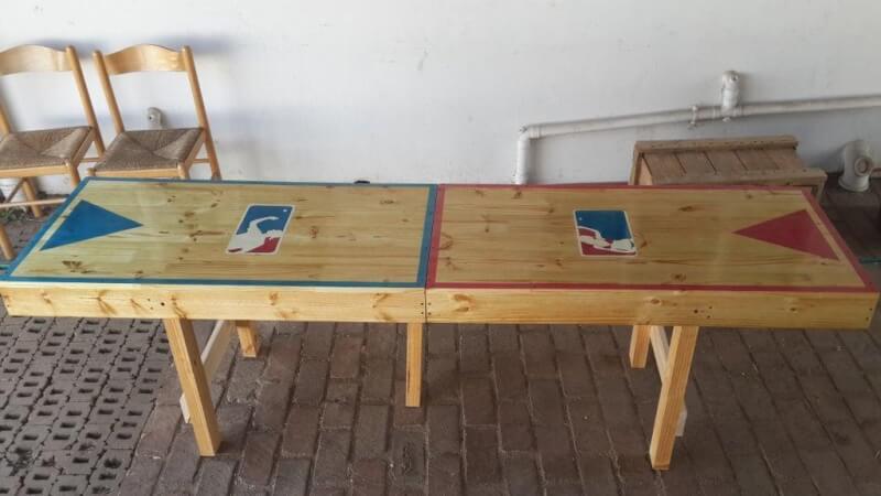 4. DIY Portable Beer Pong Table