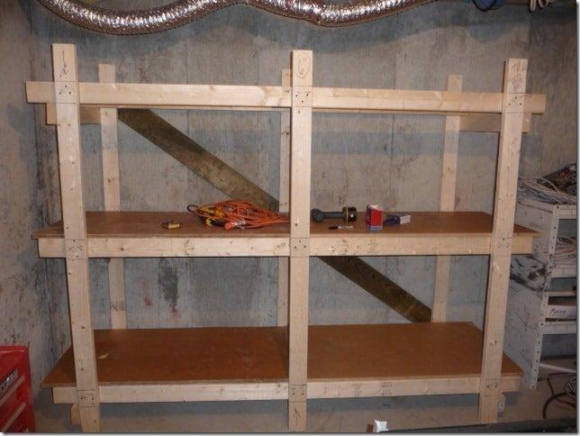 4. DIY Storage Shelving