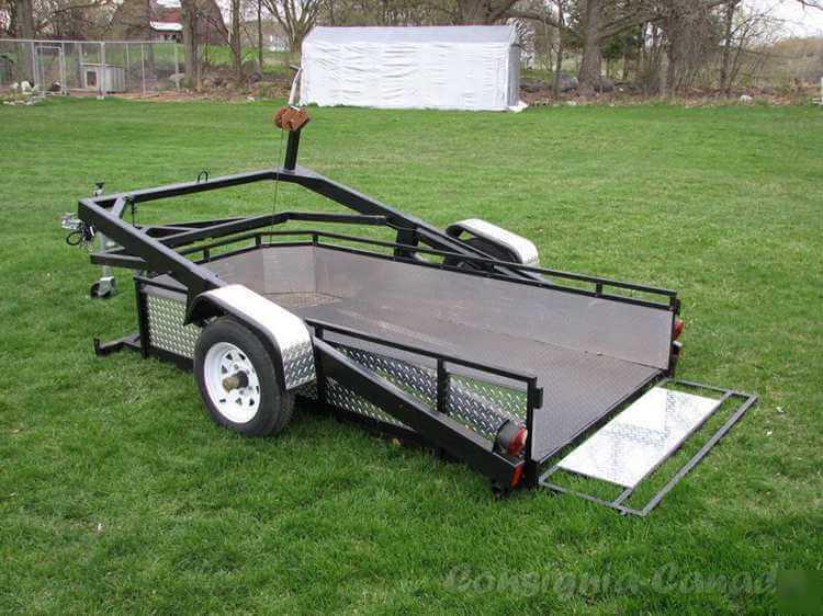 4. Motorcycle utility trailer