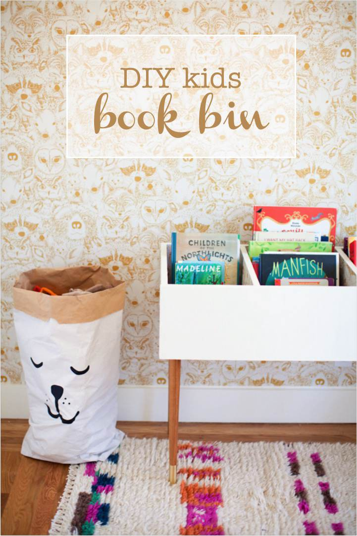 4. Spacious Kids' Book Bin