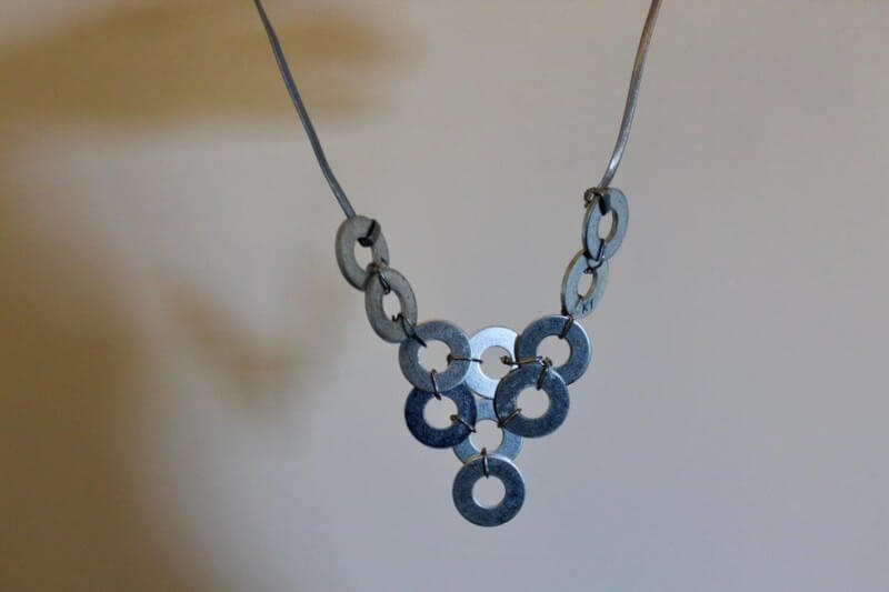 45. DIY Washer Necklace