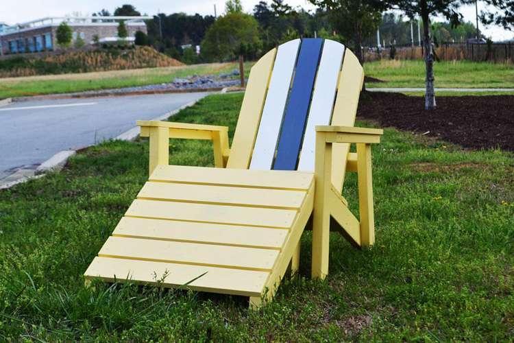 5. 2x4 Adirondack Chair DIY