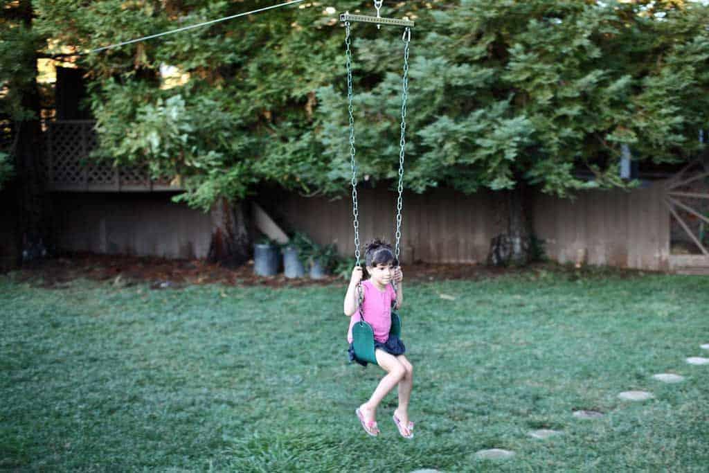 5. Backyard DIY Zipline