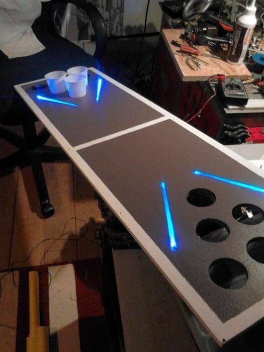 5. Beer Pong Table DIY