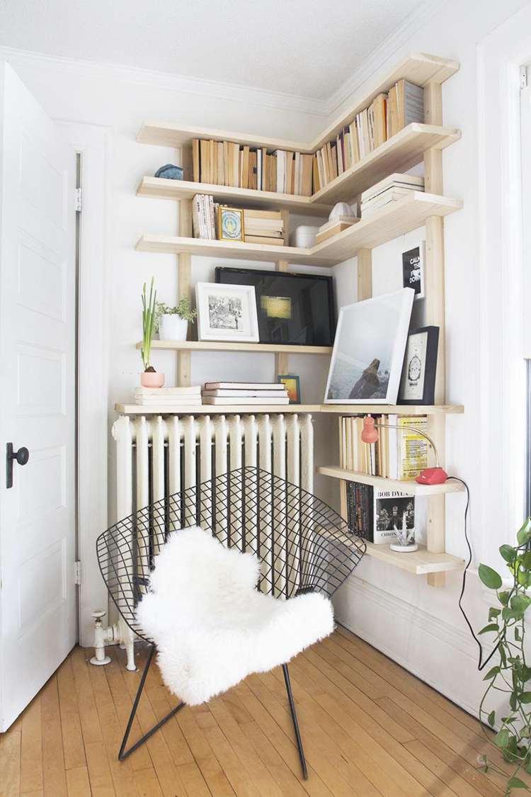 5. DIY Corner Shelf For Desk