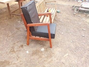 5. DIY Simple Outdoor Sofa