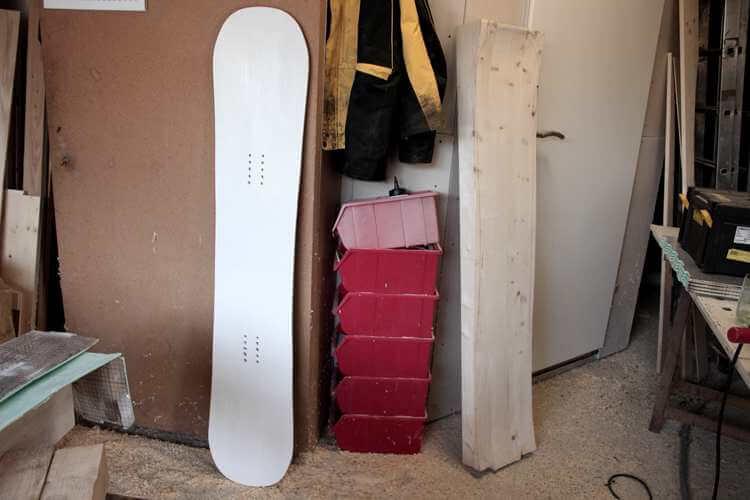 5. DIY Snowboard and Press