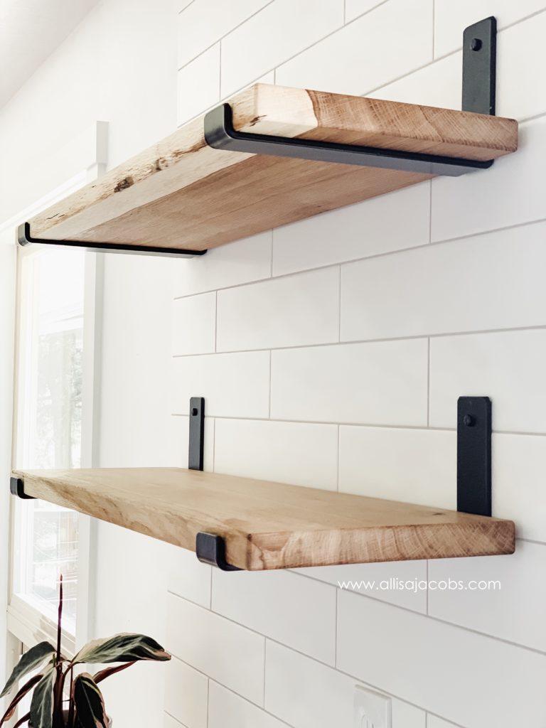 5. DIY Wood Shelf