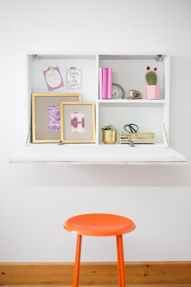 5. How To Build A Wall Mounted Fold Down Desk