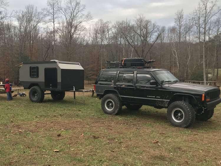 5. Off-road Overlanding Camper