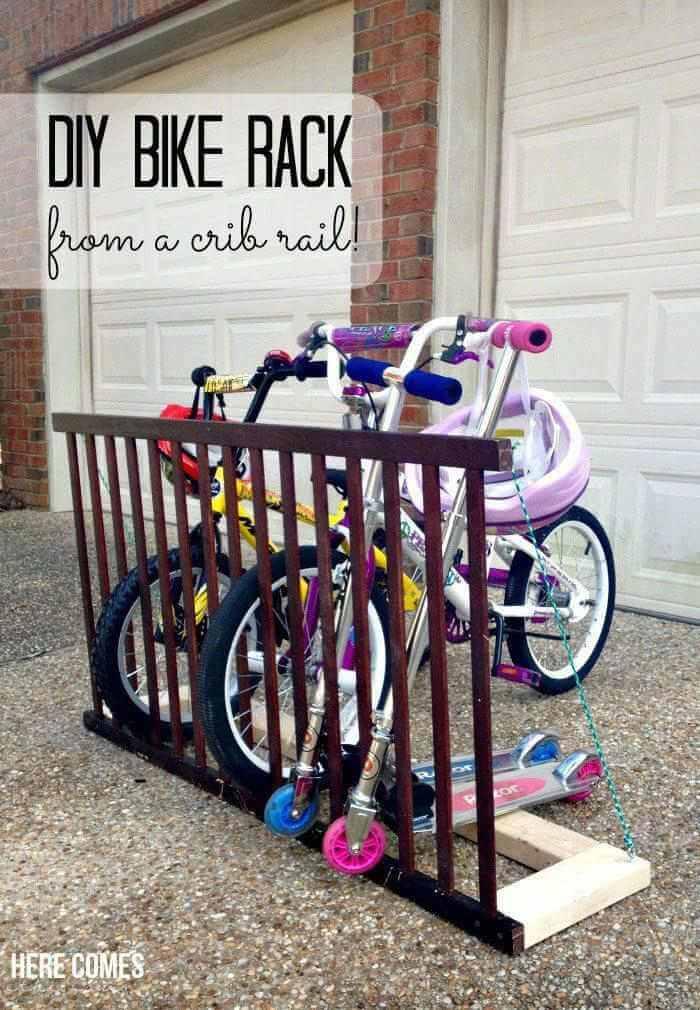 6. DIY Bike Rack