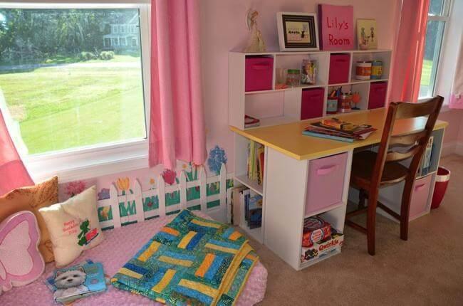6. DIY Desk For Kids