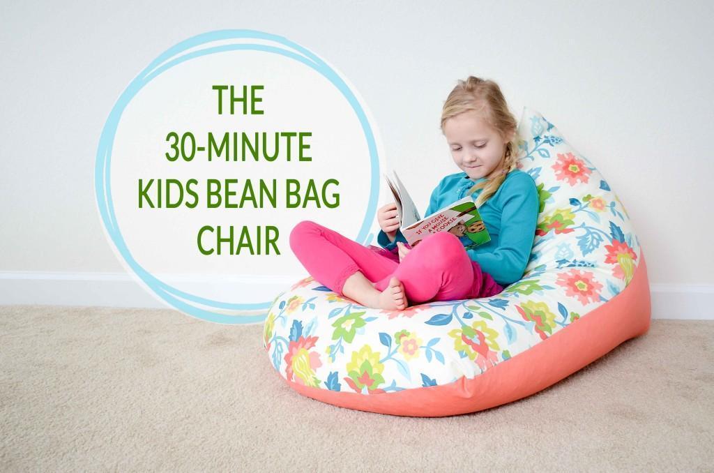 6. DIY Kids Bean Bag Chair