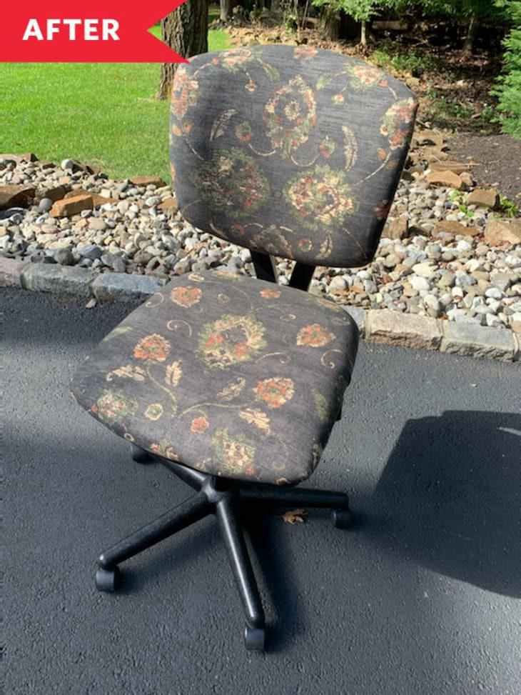 6. DIY Office Chair Makeover