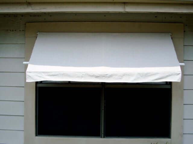 6. Instructables DIY awning