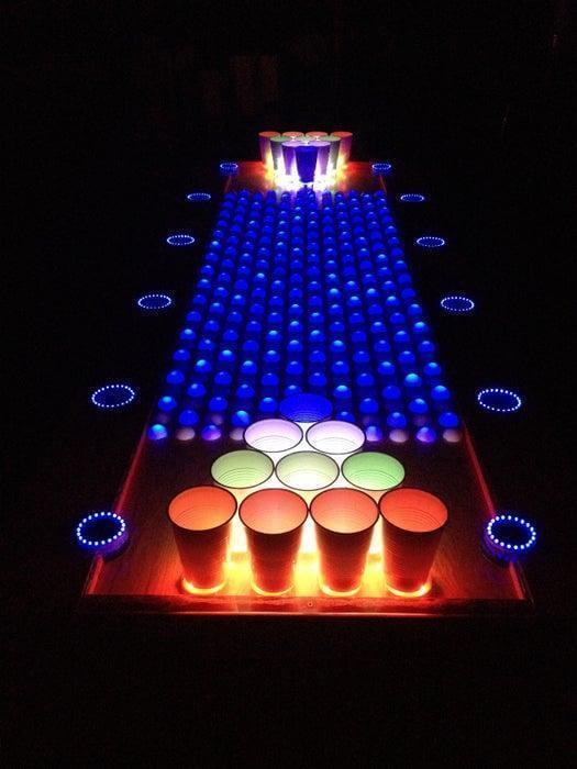 6. LED Beer Pong Table DIY