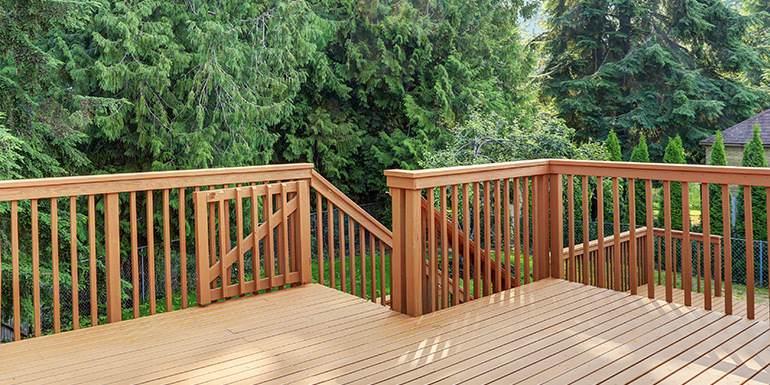 6. Matching Deck Gate