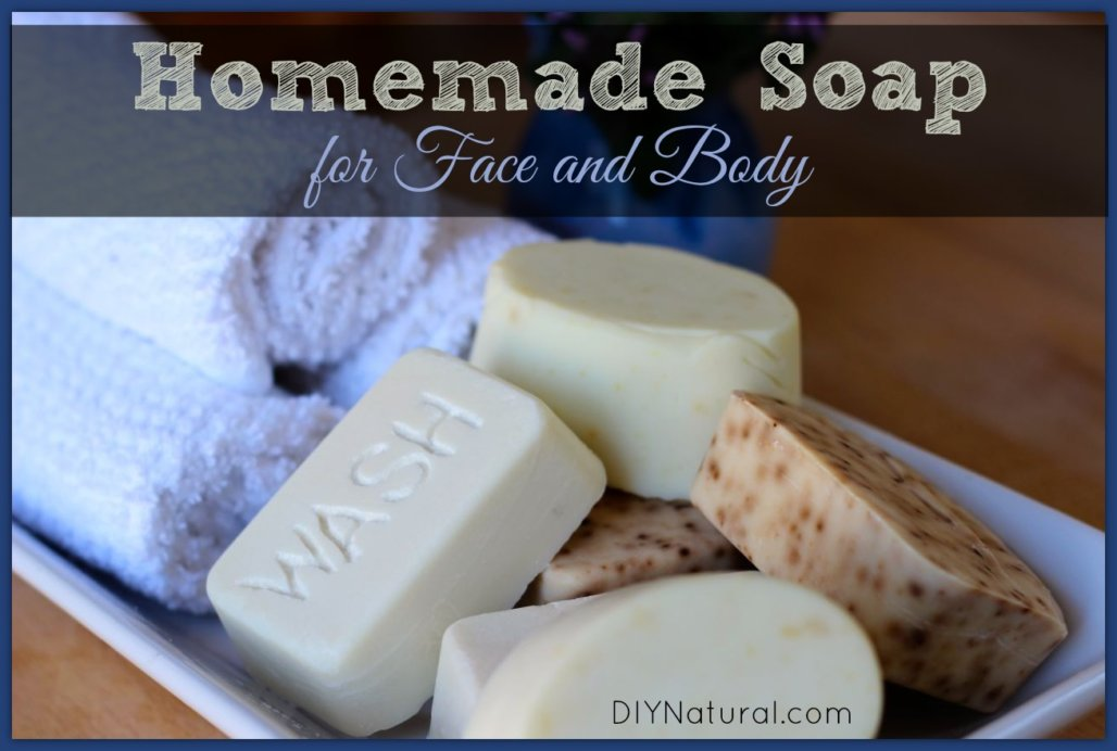 6. Natural Face & Body Soap