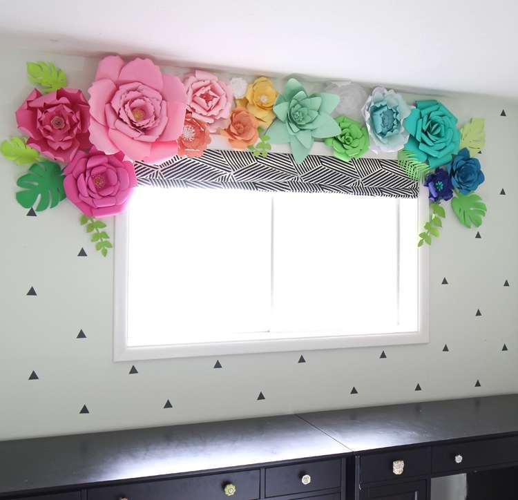 6. Paper Flower Décor
