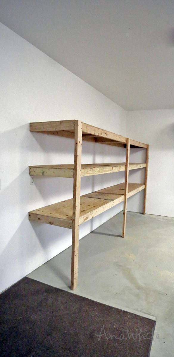 7. Best DIY Garage Shelf