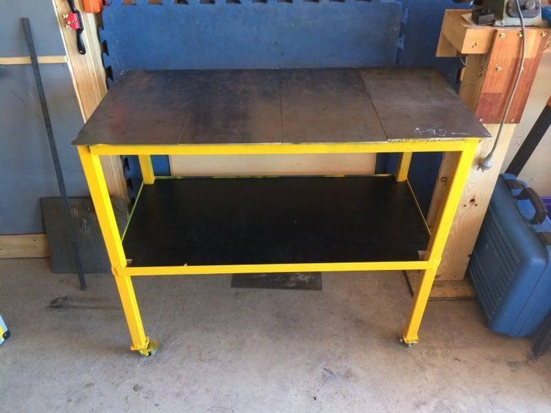 7. DIY Easy Welding Table Build