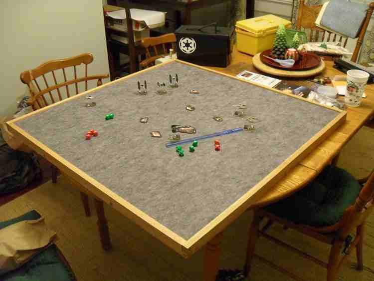 7. DIY Gaming Table Top