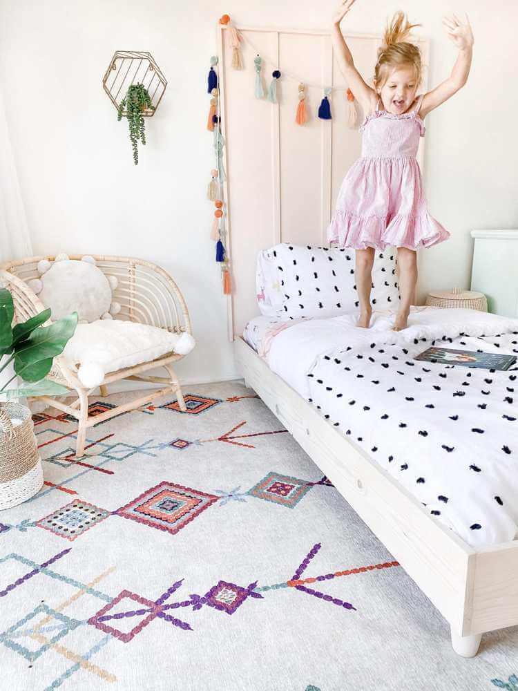 7. DIY Twin Platform Bed Frame