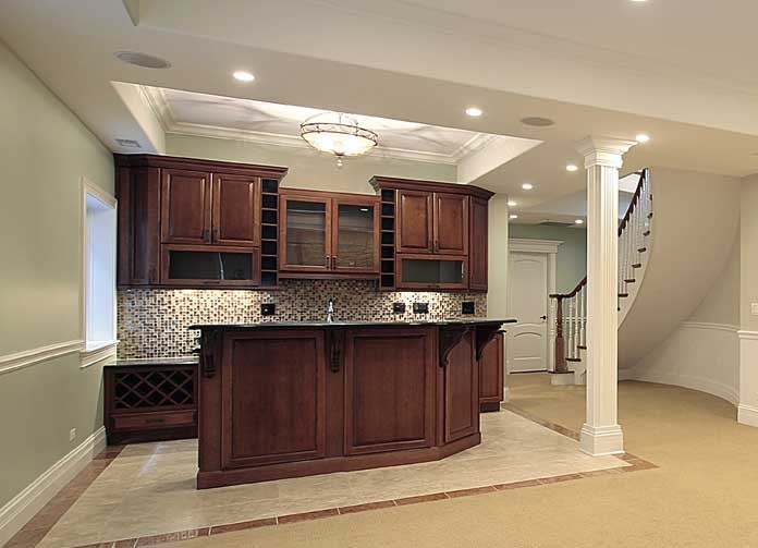 7. How To Build A Basement Bar - Tips