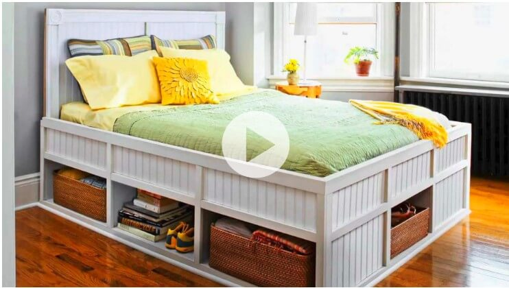7. How To Build A Storage Bed